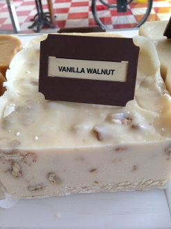 Vanilla Walnut Fudge