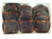 Dark Chocolate Pecan Turtles